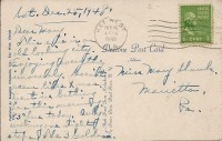 Writing and Address Card