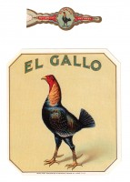 El Gallo Outer Box Art and Wrap