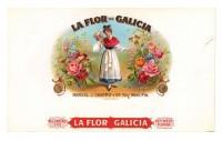 La Flor de Galicia Inner Box Art