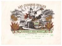 Las Cubanas Reales Sales Book Page