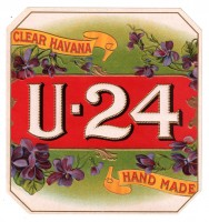 U - 24 Outer Box Art