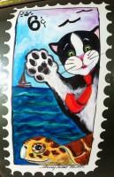 Cosmo the Hemingway Cat