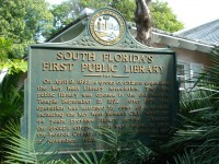South Florida's First Public Library