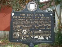 50th Year of U.S. International Air Service