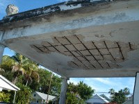 Cement roof